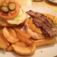Photo taken at Sakura Burger by intense2656 on 2/14/2012