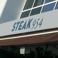 Photo taken at Steak 954 by Jackson M. on 4/13/2012
