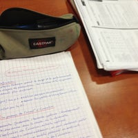 Photo taken at BU Droit (Bibliothèque Universitaire) by Charles on 6/20/2012