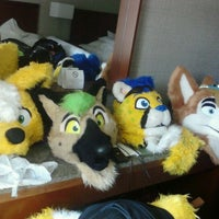 Photo taken at Anthrocon by Keeya K. on 6/14/2012