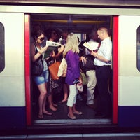 Photo taken at Hammersmith London Underground Station (Circle and H&C lines) by Ming Y. on 7/25/2012