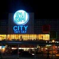 Photo taken at SM City Taytay by Bryant K. on 1/28/2012