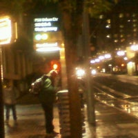 Photo taken at TriMet PSU/SW 6th & Montgomery MAX Station by Chaz F. on 10/6/2011