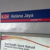 Photo taken at RapidKL Kelana Jaya (KJ24) LRT Station by Peter Pan on 9/3/2011