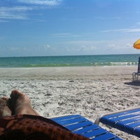 Photo taken at Madeira Beach by Michelle W. on 5/7/2012
