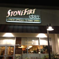Photo taken at Stonefire Grill by johnnydu on 3/14/2012