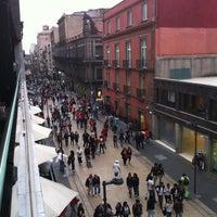 Photo taken at Plaza Madero by Enrique Josue C. on 3/25/2012