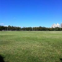 Photo taken at Kapiolani Regional Park by Melissa C. on 11/13/2011