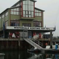 Photo taken at Jachthaven Scheveningen by Bas K. on 10/28/2011