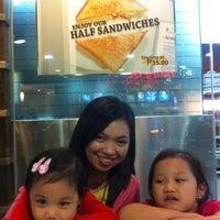 Photo taken at Peanut Butter Company (SM North) by milannie y. on 12/27/2010