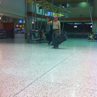 Photo taken at Terminal 2 Security Checkpoint by Ashley C. on 5/1/2012