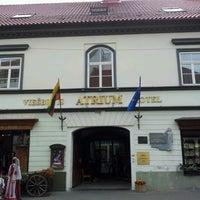 Снимок сделан в Atrium Hotel Vilnius пользователем Senator D 6/30/2012