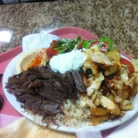 Photo taken at Shawarma Palace by Edward L. on 8/16/2012