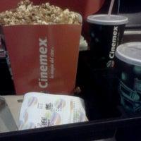 Photo taken at Cinemex by Ernesto C. on 5/6/2012