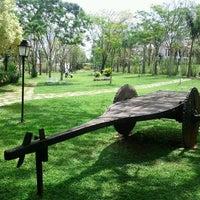 Photo taken at Pousada dos Pireneus Resort by Edson M. on 10/15/2011
