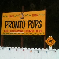Photo taken at Pronto Pups by Mark R. on 2/5/2011
