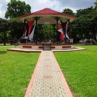 Photo taken at Woodford Square by Jeconiah M. on 9/13/2012