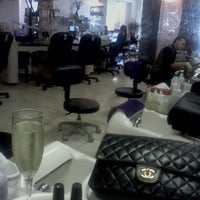 Photo taken at Nail Bar Tallahassee by Missy S. on 11/10/2011