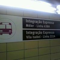Photo taken at Integração Metrô-Vila Isabel by Johnny S. on 1/25/2012