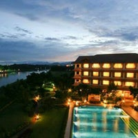 Photo taken at Imperial River House Resort Chiangrai by Tucky on 2/18/2011