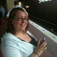 Photo taken at West Falls Church-VT/UVA Metro Station by Amy L. on 6/9/2011