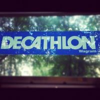 Photo taken at Decathlon by Elsa L. on 8/17/2012