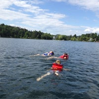 Photo taken at Lac Rond by Louis N. on 7/7/2012