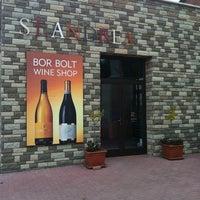 Photo taken at St Andrea Wine Cellar @ Egerszalok by Henrietta K. on 4/15/2011
