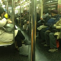 Photo taken at MTA Subway - 7 Train by Jessica on 1/4/2012