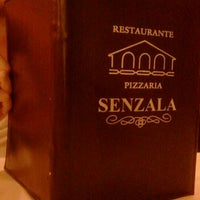 Photo taken at Restaurante e Pizzaria Senzala by Alex V. on 1/30/2012