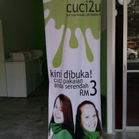 Photo taken at Cuci2u Coin Operated Laundry by Rafi N. on 6/5/2011