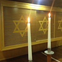 Photo taken at Sinagoga da Hebraica by Jose Luiz G. on 4/20/2012