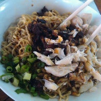 Photo taken at Bakmie Oukie by mantugaul on 10/3/2011