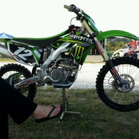 Photo taken at Thundercross Motocross Park by Mitch D. on 4/1/2012