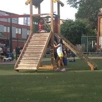 Photo taken at Parque Leoncio Prado by Cristian G. on 3/31/2012