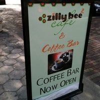 Photo taken at Zilly Bee Cafe by Caitlin R. on 7/21/2012