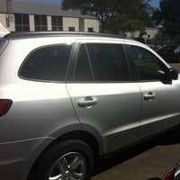 Photo taken at South Point Hyundai by Brie M. on 9/5/2011