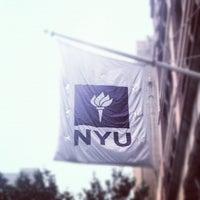 Photo taken at New York University by Nick J. on 6/2/2012