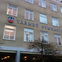 Photo taken at Värmdö Gymnasium by Sophie D. on 11/8/2011