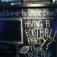 Photo taken at Dixie Blue BarBQue by John on 1/25/2012