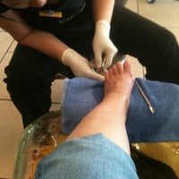 Photo taken at Serenity Nail Spa by Margaret B. on 11/17/2011