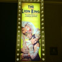 Photo taken at THE LION KING in Las Vegas by Shoutters on 10/2/2011