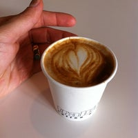 Photo taken at Trabant Coffee and Chai by Hope K. on 8/31/2011
