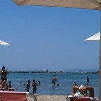 Photo taken at Balux Beach by Stelina G. on 6/9/2012