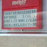 Photo taken at Meijer Gas by Miranda G. on 5/6/2012