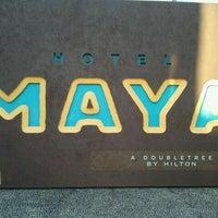Photo taken at Hotel Maya - a DoubleTree by Hilton Hotel by Jason F. on 11/7/2011