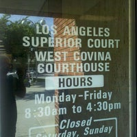 Photo taken at Los Angeles Superior West Covina Courthouse by Edward P. on 4/3/2012