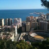 Photo taken at Hotel Parador de Málaga Gibralfaro by Asun R. on 9/4/2011