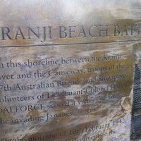 Photo taken at Kranji Beach Battle Site by gerard t. on 3/13/2011