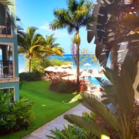 Photo taken at Sandals Whitehouse European Village & Spa by Mary B. on 4/25/2012